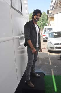 Shahid Kapoor at R.Rajkumar promotion on DID Dance Ka Tashan