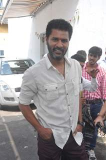Prabhu Deva at R.Rajkumar promotions