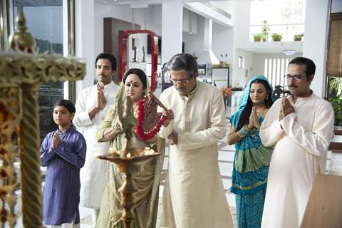 A still scene from Life Partner movie