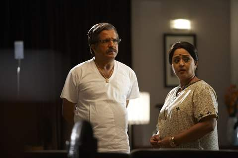 Darshan Jariwala and Shoma Anand in Life Partner movie
