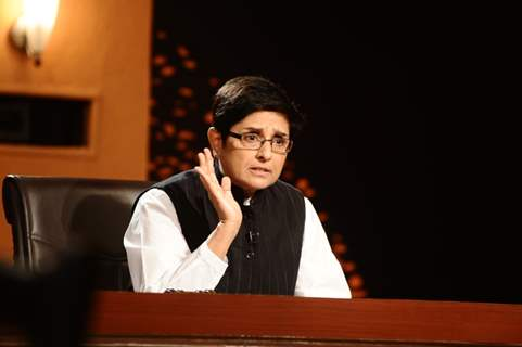 A still image of Kiran Bedi