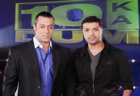 Himesh Reshmmiya and Salman Khan