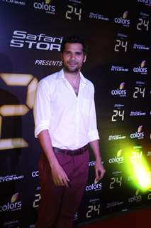 Neil Bhoopalam at the Success party of TV show 24