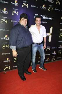 Sanjay Kapoor was seen at the Success party of TV show 24