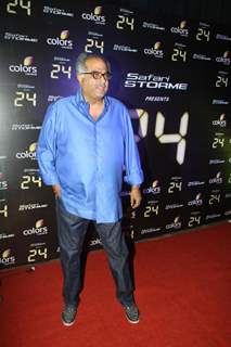 Boney Kapoor was at the Success party of TV show 24