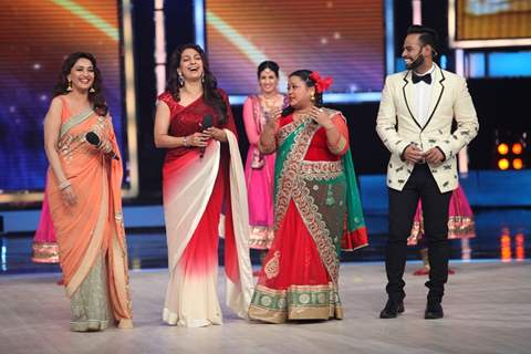 Gulaab Gang promotions at the Grand Finale of India's Got Talent