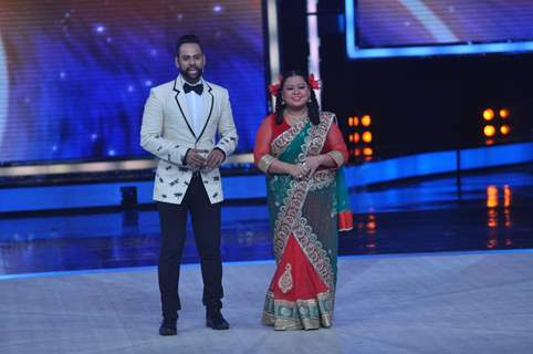 Andy and Bharti on India's Got Talent Season 5