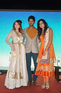 Purab Kohli and Kirti Kulhari at the Music Launch of 'Jal'