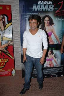 Rajpal Yadav at Main Tera Hero and Ragini MMS 2 Success Party