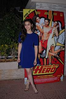 Alia Bhatt was at Main Tera Hero and Ragini MMS 2 Success Party