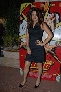 Udita Goswami was seen at Main Tera Hero and Ragini MMS 2 Success Party