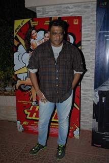 Anurag Basu was seen at Main Tera Hero and Ragini MMS 2 Success Party