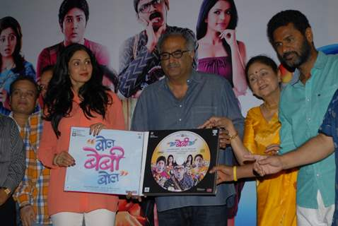 Marathi film Bol Baby Bol 's Music Launch