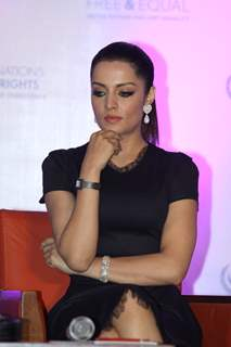 Celina Jaitly at the launch of her music album and video, 'Welcome'