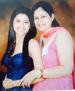 Shefali Sharma with her Mom