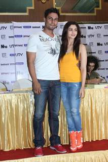 Randeep and Alia at the Highway DVD launch