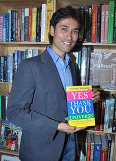launch of Vickrant Mahajan's book Yes Thank You Universe