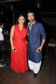 Ashish Chowdhry and Shilpa Shirodkar at the Party