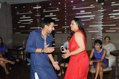 Ashish and Shilpa enjoy the party
