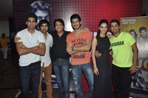 Fugly team attends Shiamak's show Selcouth finale