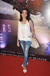 Smita Bansal at Transformers Age of Extinction Premiere