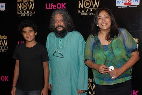 Amole and Partho Gupte at  Life OK Now Awards