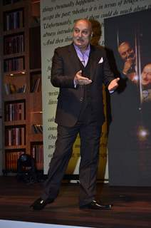 "Anupam Kher speaking about ""The Anupam Kher Show"""