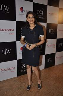 Smita Bansal was seen at the India International Jewellery Week (IIJW) 2014 - Day 3