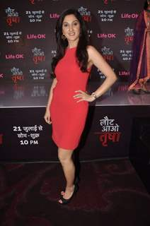 Adita Wahi at the Press Conference of Laut Aao Trisha