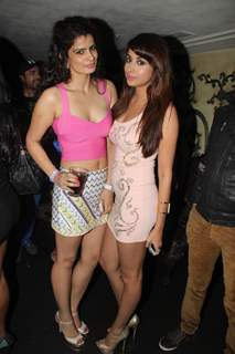 Madhura Naik with her friend at her Birthday Party