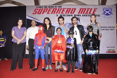 Superhero Mill Event organised and supported by Wilson College and Sony Pictures
