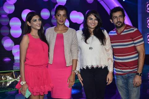 Cast of Ishq ne Krazzy Kiya Re at the Promotional Event