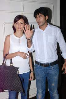 Hiten Tejwani and Gauri Pradhan Tejwani were at the Special screening of Entertainment