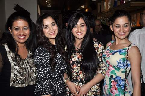 Aditi Sajwan, Sanjeeda Shaikh and Simone Singh at the 100 Episodes Completion Party