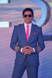 Yudhistir at the launch of Airlines - Har Udaan Ek Toofan