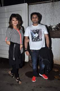 Udita Goswami and Mohit Suri were at the Special Screening of Raja Natwarlal