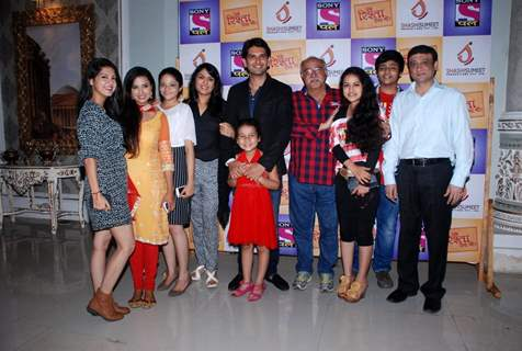 Cast at the Press Meet of Ek Rishta Aisa Bhi