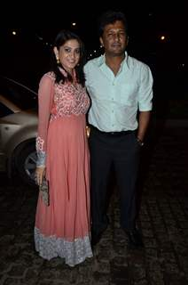 Smita Bansal and Ankush Mohla were seen at Nikitan Dheer and Kratika Sengar's Wedding Reception
