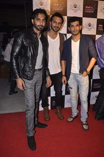 Rohit Khurana, Ali Mercchant and Arjun Bijlani at the Launch of Heavens Dog Resturant