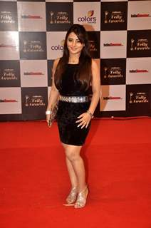Nidhi Uttam was at the Indian Telly Awards
