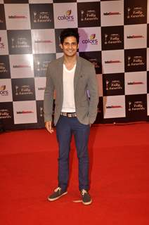 Mohit Malhotra was seen at the Indian Telly Awards