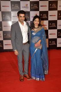 Mohit Malik and Addite Shirwakar were at the Indian Telly Awards