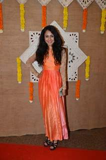 Manasi Parekh poses for the media at Gujrati Jalso 2014 in Schon by Sakshee Pradhan