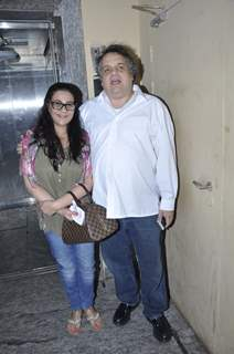 Amrita Singh snapped with Sandeep Khosla at PVR