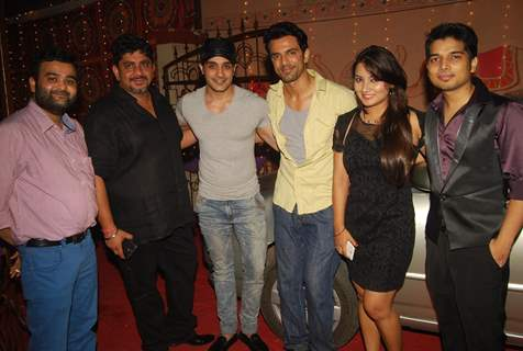 TV Celebs at the Get Together on the set of Itti Si Kushi