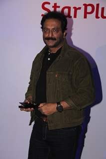 Milind Gunaji poses for the media at the Launch of Everest