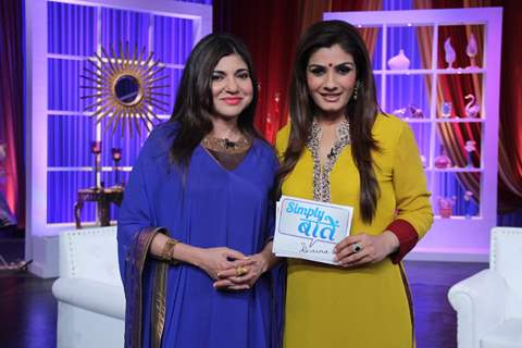 Simply Baatein with Raveena