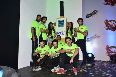 Team Mumbai Warriors at the BCL Press Conference