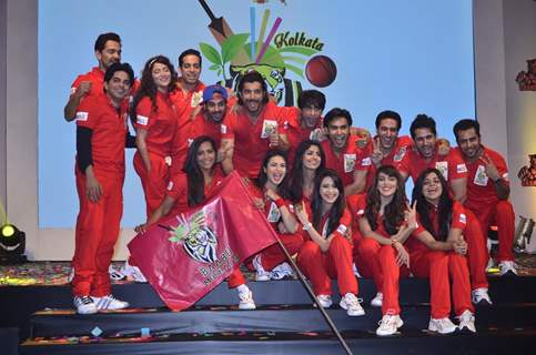 Team Kolkota baabu Moshayes at the BCL Press Conference