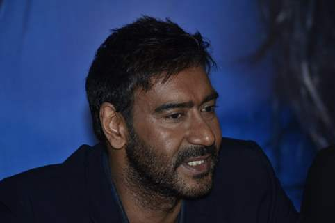 Ajay Devgn snapped on the Sets of KBC 8